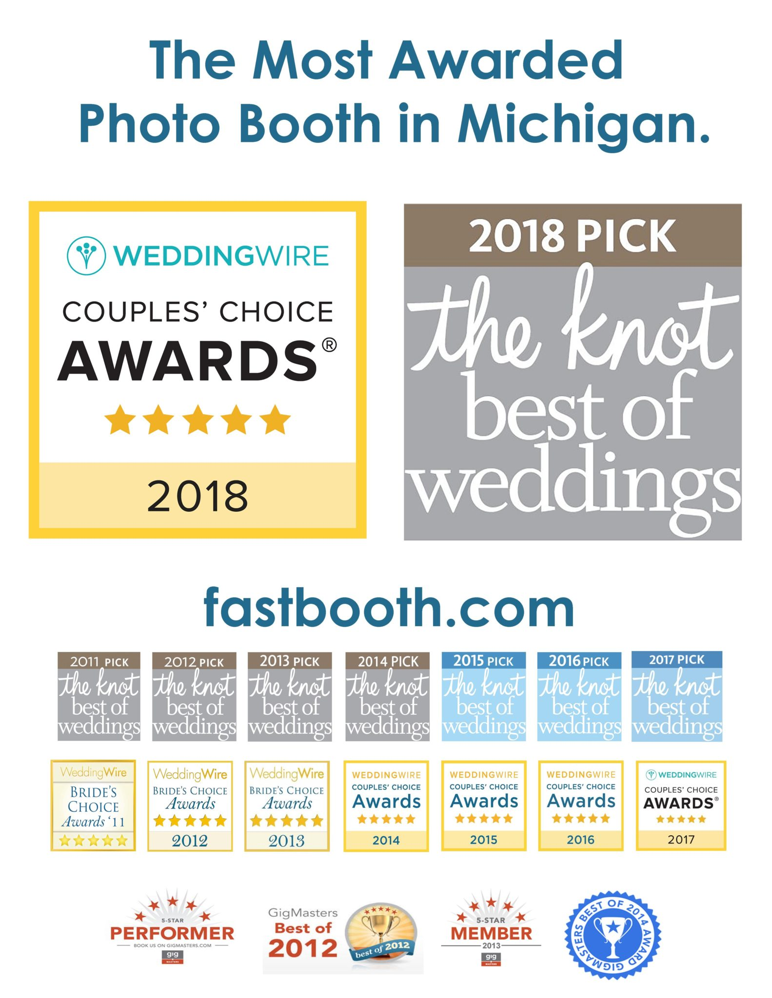 top rated photo booth in michigan