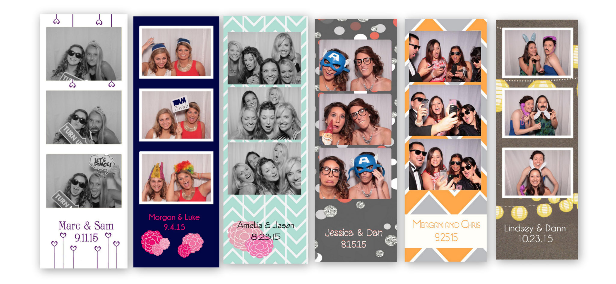wedding photo booth rental